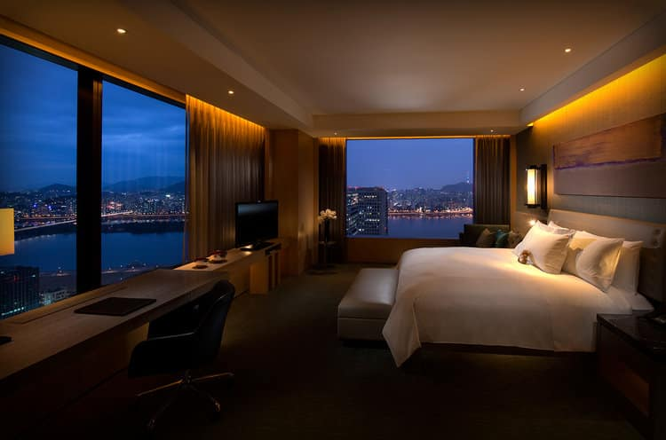 Shilla Hotel Seoul South Korea