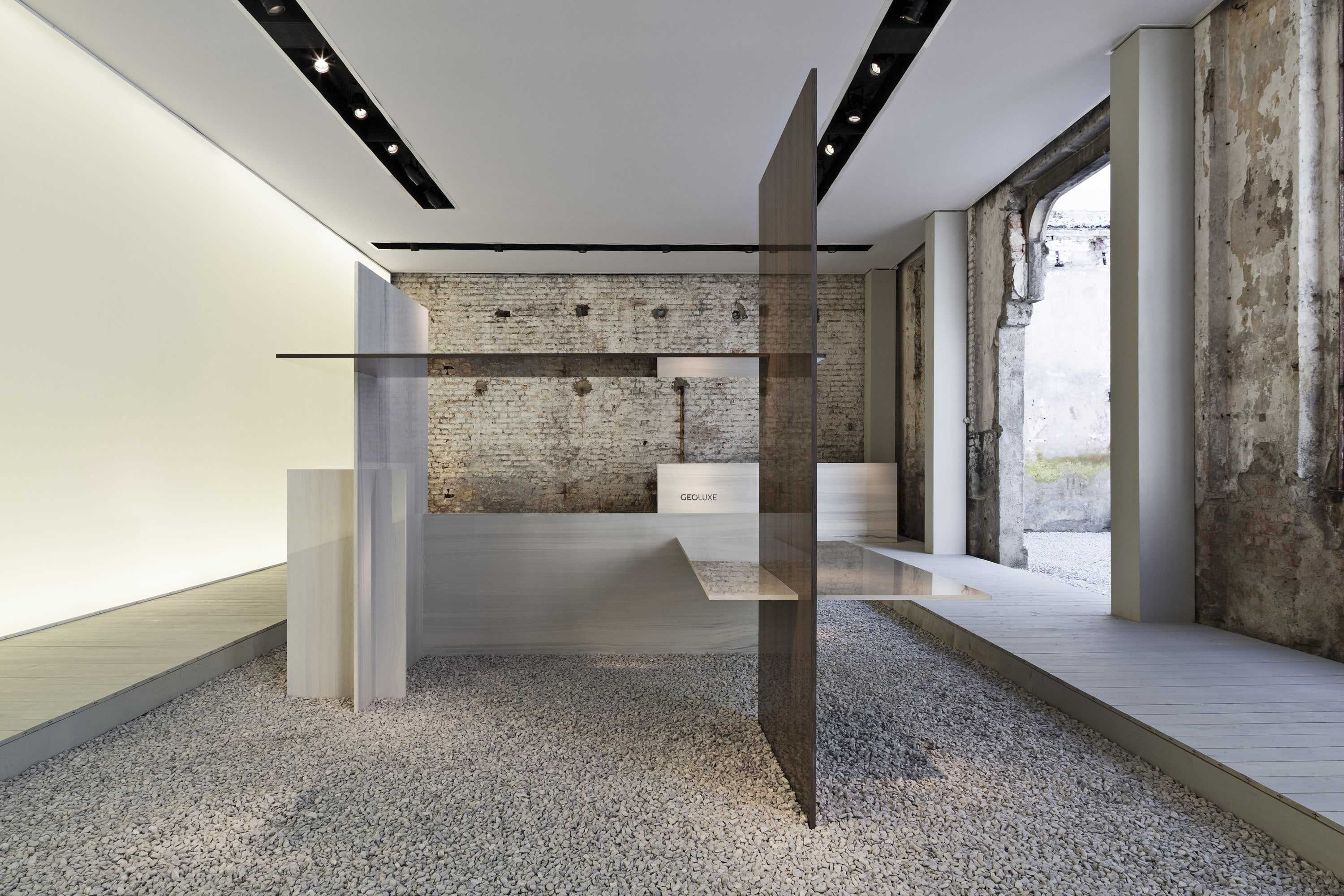 Ine design stone 187 other products - On The Occasion Of Fuorisalone 2016 Naoto Fukasawa Has Signed The Unveil Event Organized By Geoluxe By Scg Group In Which He Presented The New